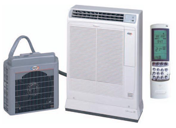 Siirrettävä ilmastointilaite