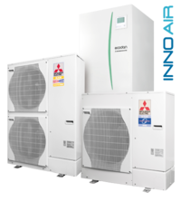 Mitsubishi Electric EcoDan + P.Inverter-RP100